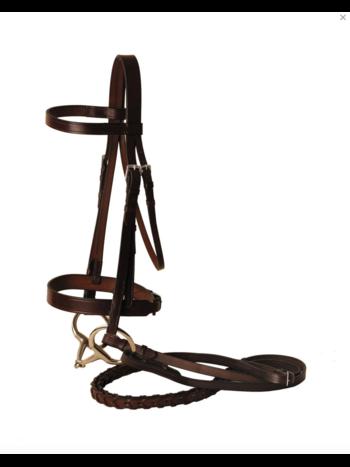 Tory Leather Tory Fox Hunt Bridle Horse Havana