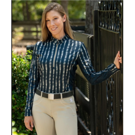FITS Fits Cool Breeze Lattice Long Sleeve Sun Shirt