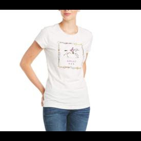 Ariat Ariat Ladies SS Tee Shirt Galloping Horses