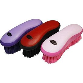 Showman Showman Soft Grip Dandy Brush Asst Colors