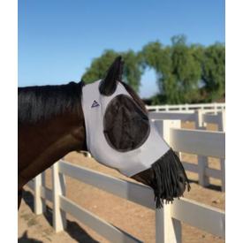 Professionals Choice Professional's Choice Comfort Fit Lycra Fly Mask w/ Fringe
