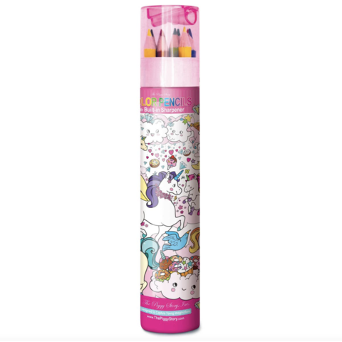 The Piggy Story Color Pencil Tube