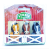 The Piggy Story Stable Erasers