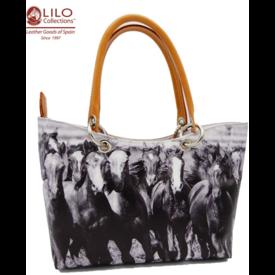 LILO Collections LILO Collections  La Espuela Carmina Horses Handbag