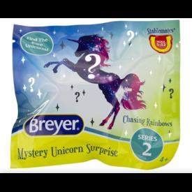 Breyer Breyer Stablemates Mystery Unicorn Surprise Chasing Rainbows