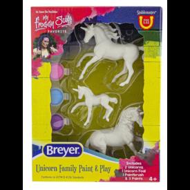 Breyer Breyer Craft Unicorn Family Paint and Play