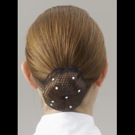 SHOWQUEST Showquest Bun Nets Swarovski Pearls One Size