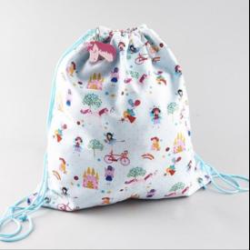 Floss & Rocks Drawstring Bag
