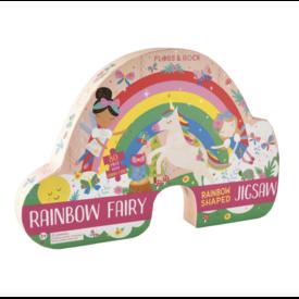 Floss & Rocks Floss & Rock 80pc Jigsaw in Rainbow Shaped Box