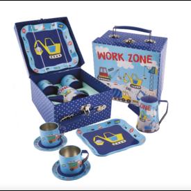 Floss & Rocks Tin Tea Set - 7 Piece -