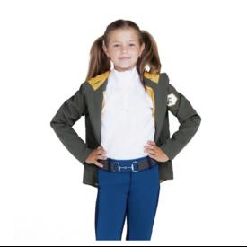 Hippique Hippique Kids Hooded Weatherproof Jacket