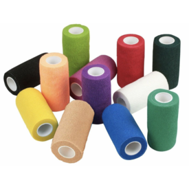 ANIMAL SUPPLIES INTERNAT ASI Wrap it Up Flexible Bandage 4 in x 5 ft Assorted
