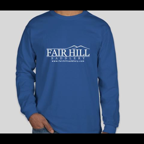Fair Hill Saddlery Ultra Cotton Long Sleeve T-Shirt