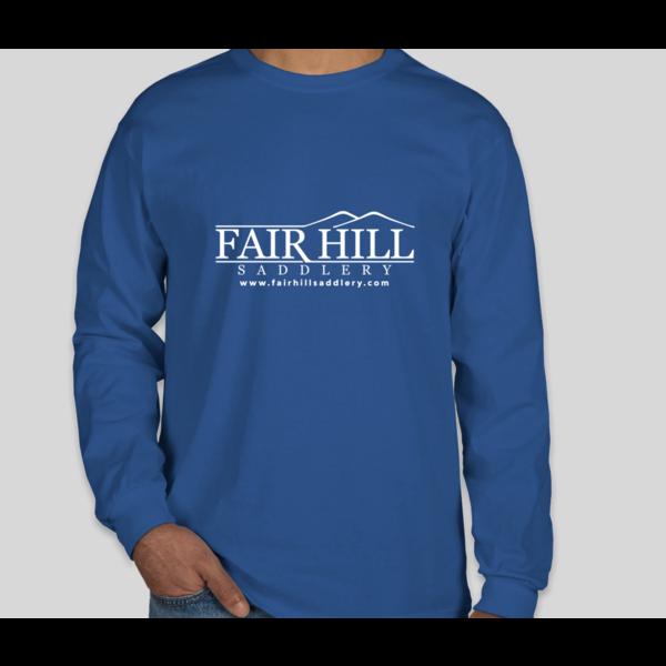 Fair Hill Saddlery Fair Hill Saddlery Ultra Cotton Long Sleeve T-Shirt