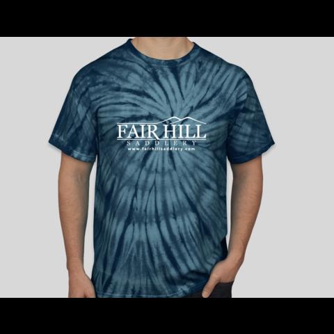 Fair Hill Saddlery Tie Die T-Shirt