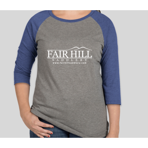 Fair Hill Saddlery Ladies Raglan T-Shirt