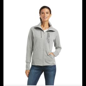 Ariat Ariat Ladies Team Logo Full Zip Sweatshirt