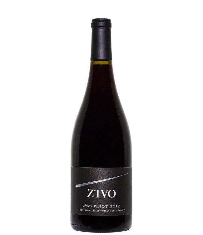 "Pinot Noir Pinot Noir ""Zivo"", Willamette Valley, OR, 2016"