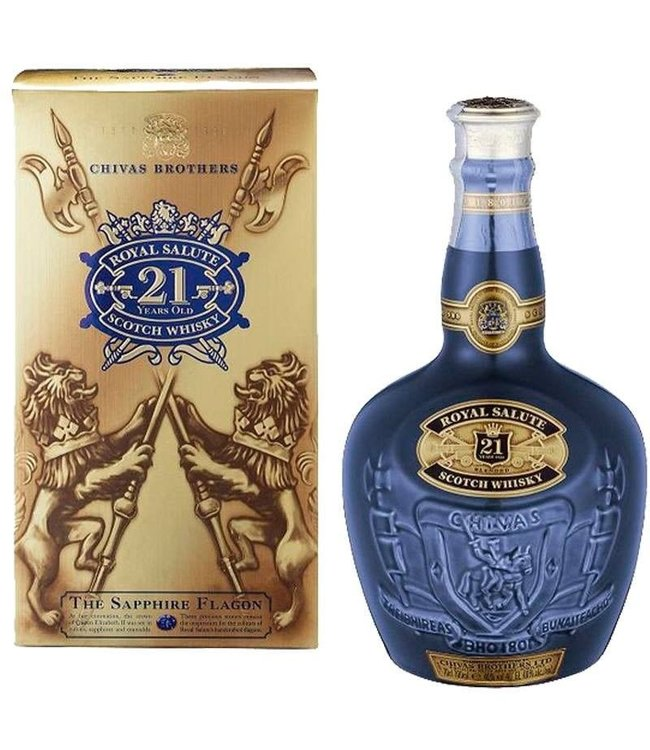 "Scotch Scotch, Chivas Regal ""Royal Salute"" 21 Yr 750ml"