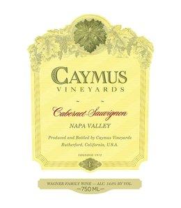 Cabernet Sauvignon Cabernet Sauvignon, Caymus Vineyards, Napa Valley, CA, 2017 1L
