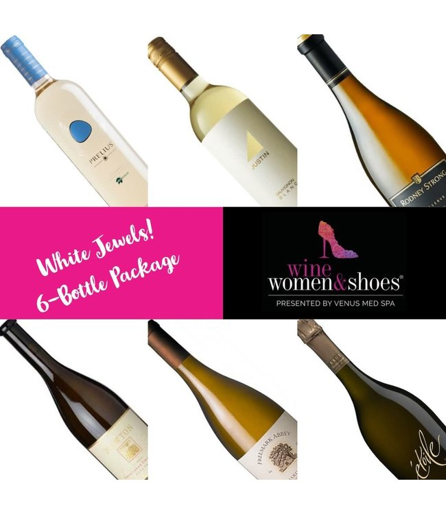 Package White Jewels, Wine Women & Shoes, 2018