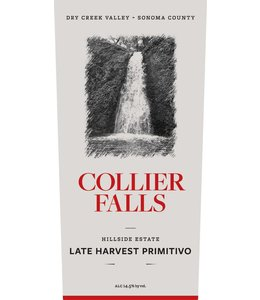 "Zinfandel Primitivo ""Late Harvest"", Collier Falls Vineyards, Dry Creek Vally, CA, 2011 (375ml)"