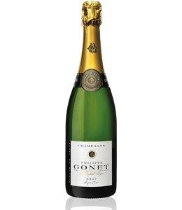 "Champagne Blend Champagne ""Brut Signature"", Philippe Gonet, FR, NV"