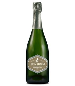 """Champagne Sparkling """"Wedding Cuvee"""", Iron Horse Vineyards, Russian River Valley, CA,2017"""
