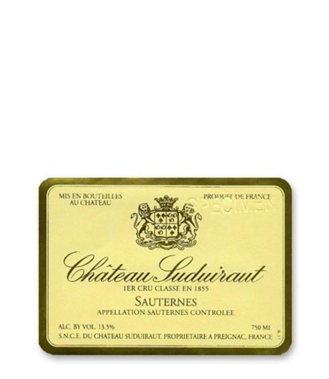 Bordeaux Blend / Meritage Chateau Suduiraut, Sauternes, FR, 2010 (375ml)