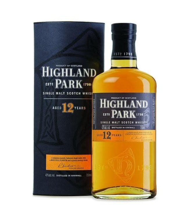 Scotch Scotch, Highland Park, 12 Yr, 750ml