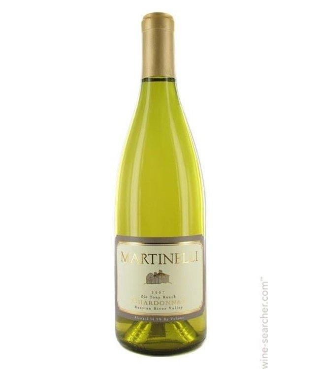 "Chardonnay Chardonnay, ""Zio Tony Ranch"", Martinelli, Russian River Valley, 2015"