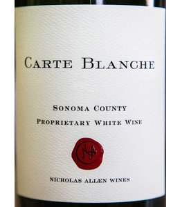 "Whites other White Blend ""Proprietary"", Carte Blanche, Sonoma County, CA, 2013"