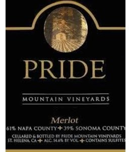 Merlot Merlot, Pride Mountain Vineyards, CA, 2015