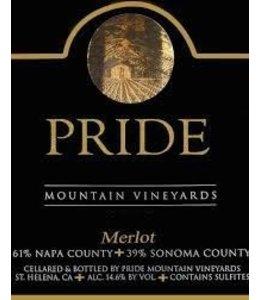 Merlot Merlot, Pride Mountain Vineyards, CA, 2015