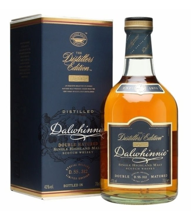 "Scotch Scotch ""Distiller's Edition"", Dalwhinnie, 750ml"