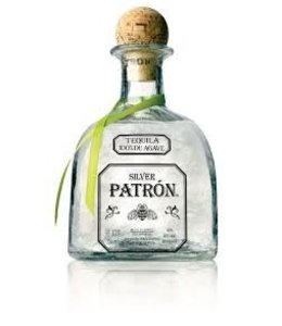 """Tequila Tequila, Patron """"Silver"""", 750ml"""