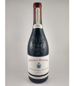 Wine Chateaneuf du Pape, Chateau Beaucastel, Fr, 2006