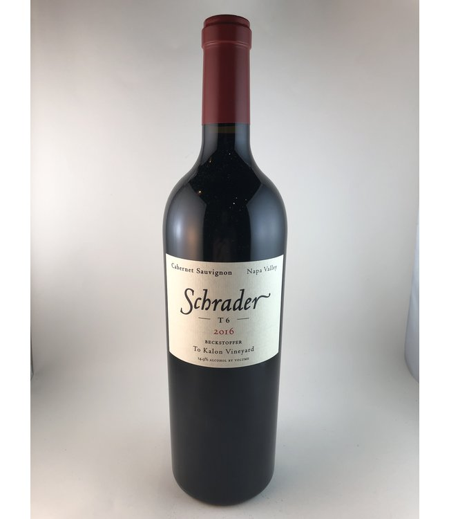 Cabernet Sauvignon Cabernet Sauvignon, Beckstoffer To Kalon T6, Schrader Wine Cellars, Napa valley , 2016