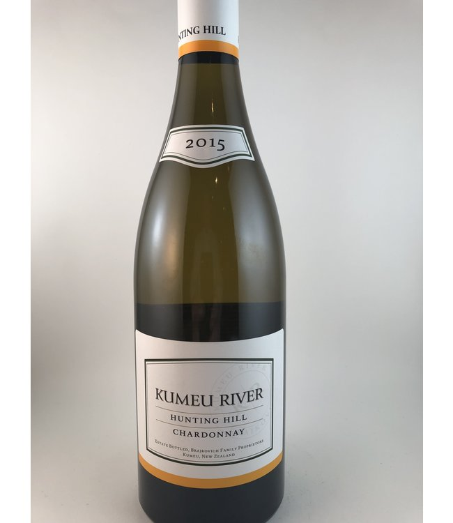 """Chardonnay Chardonnay """"Hunting Hill"""", Kumeu River, NZ, 2015"""