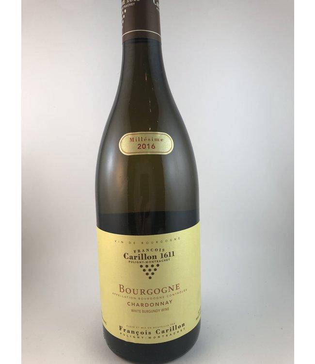 Chardonnay Bourgogne Blanc, Francois Carillon, FR, 2016