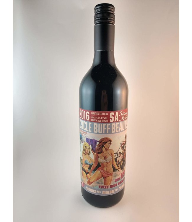 "Red Blend Red Blend ""Cycle Buff Beauty"", Misfits, AU, 2016"