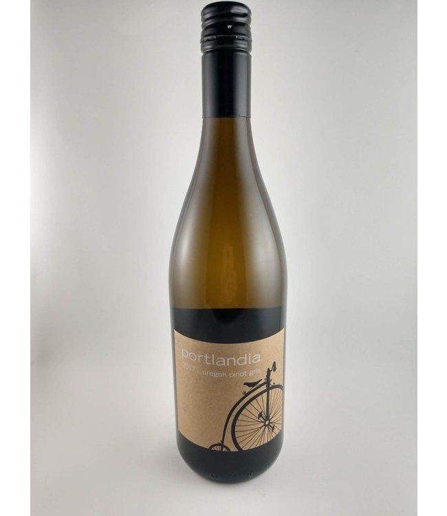 Pinot Grigio/Pinot Gris Pinot Gris, Portlandia Vintners, Willamette Valley, OR, 2017