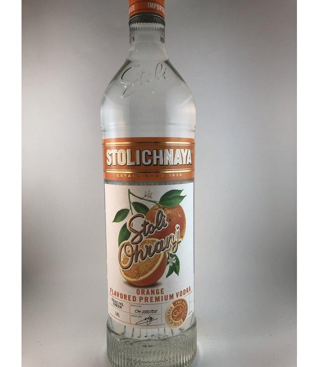 """Vodka Vodka """"Ohranj"""", Stolichnaya, 1L"""