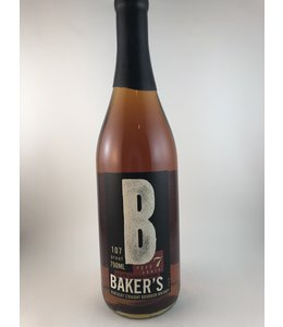 "Bourbon Bourbon, Baker's ""107 Proof""  7 Yr, 750ml"