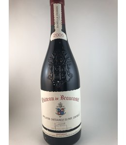 Wine Chateaneuf du Pape, Chateau Beaucastel, Fr, 2005