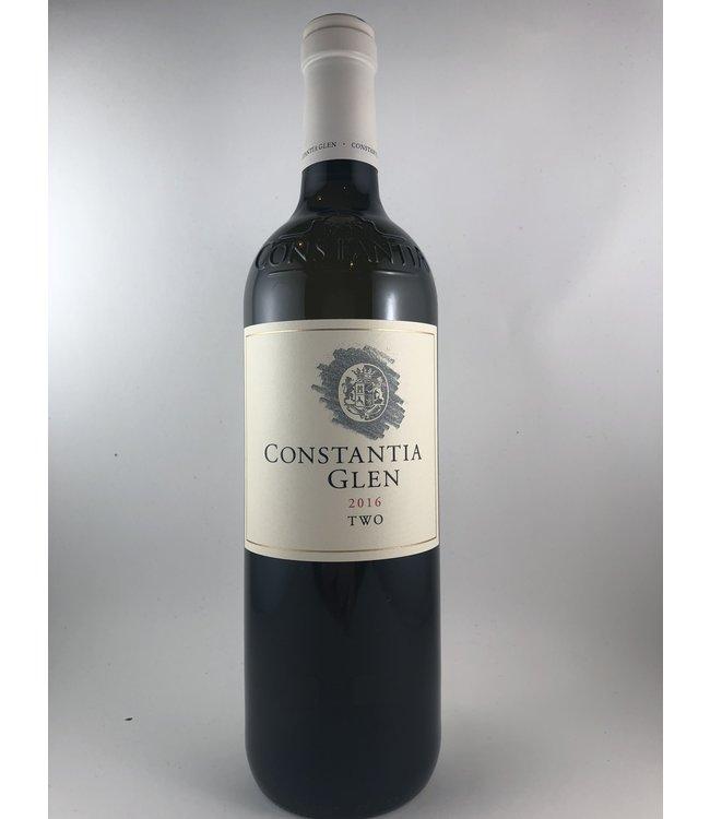 """Sauvignon Blanc/Semillon White Blend, """"Two"""" ConstantiaGlen, ZA, 2016"""
