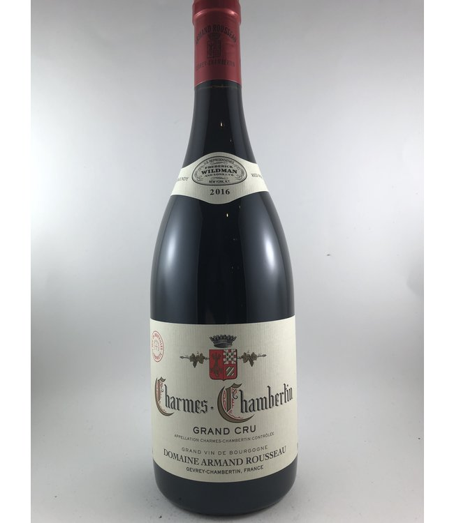 Burgundy Charmes-Chambertin, Armand Rousseau, FR,  2016