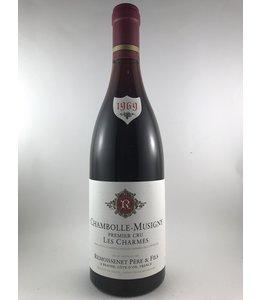 """Burgundy Chambolle-Musigny, """"Les Charmes"""", Remoissenet, FR, 1969"""