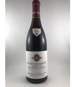 Burgundy Gevrey Chambertin, Clos St. Jacques, Remoissenet, FR, 1969