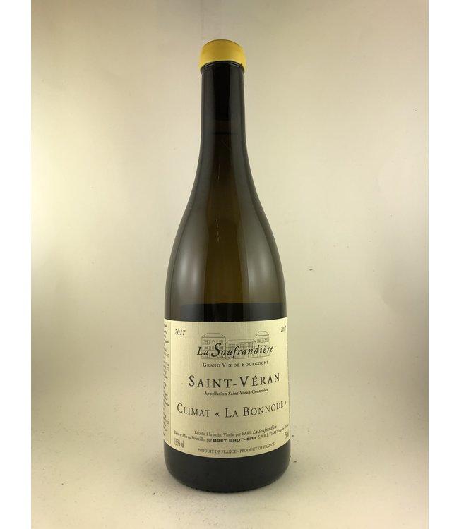 """Chardonnay Saint-Veran, """"La Bonnode"""", Domaine, La Soufrandiere, FR, 2107"""